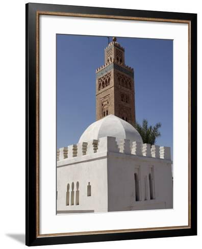 Koutoubia Minaret, Marrakesh, Morocco-De Mann Jean-Pierre-Framed Art Print