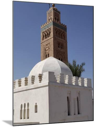 Koutoubia Minaret, Marrakesh, Morocco-De Mann Jean-Pierre-Mounted Photographic Print