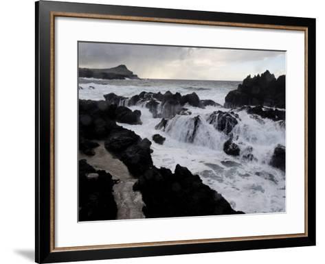 Biscoitos Coast, Terceira Island, Azores, Portugal, Atlantic, Europe-De Mann Jean-Pierre-Framed Art Print