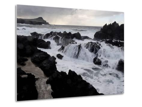 Biscoitos Coast, Terceira Island, Azores, Portugal, Atlantic, Europe-De Mann Jean-Pierre-Metal Print
