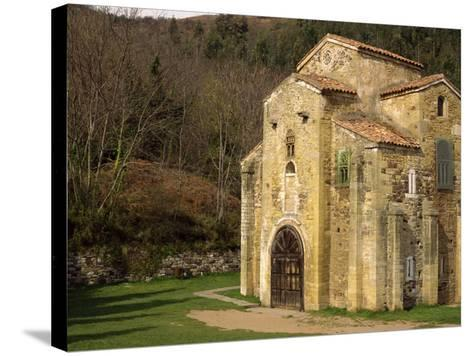 Royal Chapel of Summer Palace of Ramiro I, at San Miguel De Lillo, Oviedo, Asturias, Spain-Westwater Nedra-Stretched Canvas Print