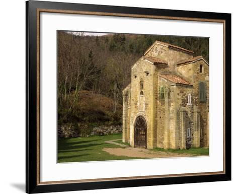 Royal Chapel of Summer Palace of Ramiro I, at San Miguel De Lillo, Oviedo, Asturias, Spain-Westwater Nedra-Framed Art Print