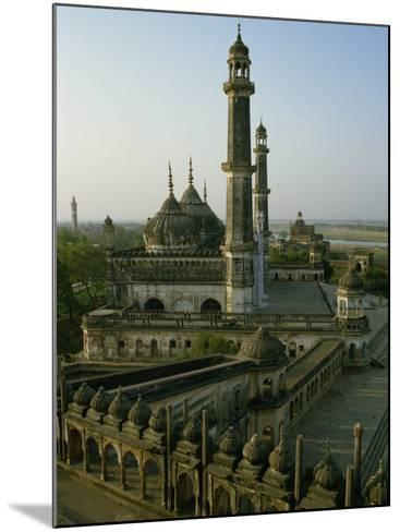 Mosque in Grounds of the Bara Imambara, Lucknow, India-John Henry Claude Wilson-Mounted Photographic Print