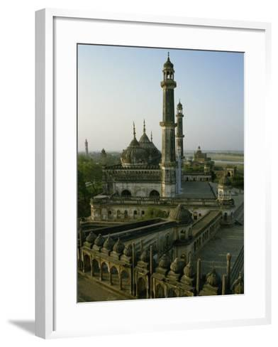 Mosque in Grounds of the Bara Imambara, Lucknow, India-John Henry Claude Wilson-Framed Art Print