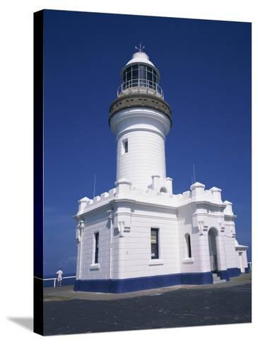 Exterior of Byron Bay Lighthouse at Byron Bay, New South Wales, Australia, Pacific-Wilson Ken-Stretched Canvas Print