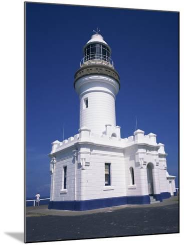 Exterior of Byron Bay Lighthouse at Byron Bay, New South Wales, Australia, Pacific-Wilson Ken-Mounted Photographic Print