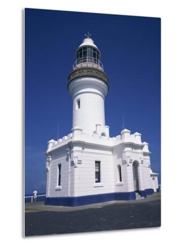 Exterior of Byron Bay Lighthouse at Byron Bay, New South Wales, Australia, Pacific-Wilson Ken-Metal Print