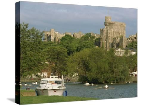 Windsor Castle and River Thames, Berkshire, England, United Kingdom, Europe-Woolfitt Adam-Stretched Canvas Print