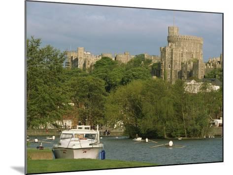 Windsor Castle and River Thames, Berkshire, England, United Kingdom, Europe-Woolfitt Adam-Mounted Photographic Print