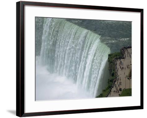 Horseshoe Falls, Niagara, Ontario, Canada-Waltham Tony-Framed Art Print