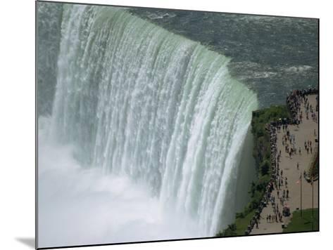 Horseshoe Falls, Niagara, Ontario, Canada-Waltham Tony-Mounted Photographic Print