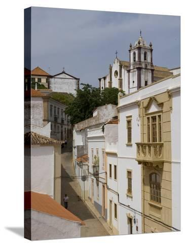 City of Silves, Algarve, Portugal, Europe-De Mann Jean-Pierre-Stretched Canvas Print
