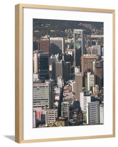 Ulchiro Central Business District, Seoul, South Korea-Waltham Tony-Framed Art Print