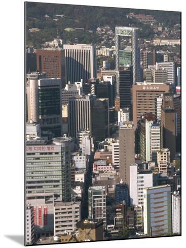 Ulchiro Central Business District, Seoul, South Korea-Waltham Tony-Mounted Photographic Print