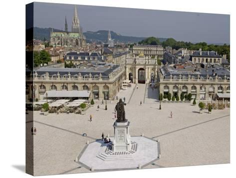 Place Stanislas, Formerly Place Royale, Nancy, Meurthe Et Moselle, Lorraine, France-De Mann Jean-Pierre-Stretched Canvas Print