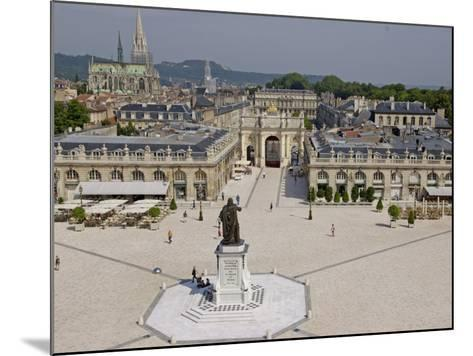Place Stanislas, Formerly Place Royale, Nancy, Meurthe Et Moselle, Lorraine, France-De Mann Jean-Pierre-Mounted Photographic Print