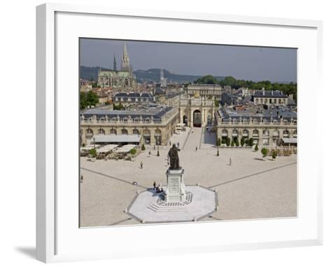 Place Stanislas, Formerly Place Royale, Nancy, Meurthe Et Moselle, Lorraine, France-De Mann Jean-Pierre-Framed Art Print
