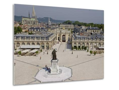 Place Stanislas, Formerly Place Royale, Nancy, Meurthe Et Moselle, Lorraine, France-De Mann Jean-Pierre-Metal Print