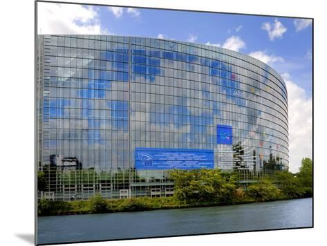 European Parliament, Strasbourg, Alsace, France, Europe-Richardson Peter-Mounted Photographic Print
