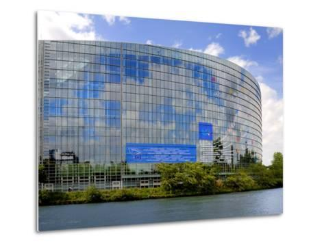 European Parliament, Strasbourg, Alsace, France, Europe-Richardson Peter-Metal Print