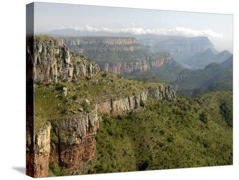 Drakensberg Mountains, South Africa, Africa-Groenendijk Peter-Stretched Canvas Print