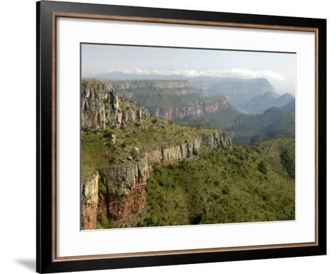 Drakensberg Mountains, South Africa, Africa-Groenendijk Peter-Framed Art Print
