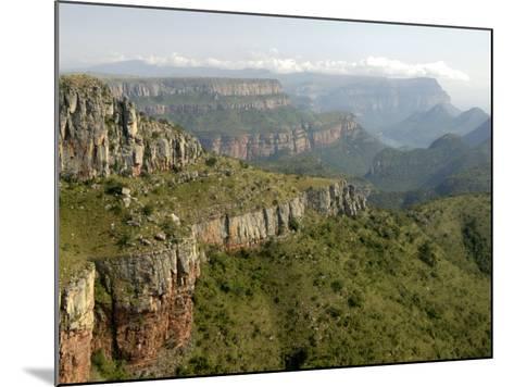 Drakensberg Mountains, South Africa, Africa-Groenendijk Peter-Mounted Photographic Print