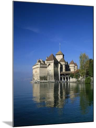 Chateau De Chillon on Lake Geneva, Switzerland, Europe--Mounted Photographic Print