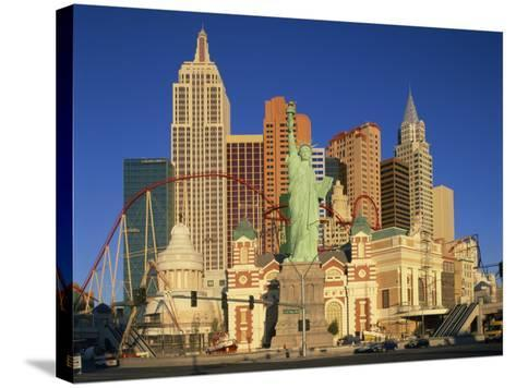 New York New York Hotel in Las Vegas, Nevada, United States of America, North America--Stretched Canvas Print