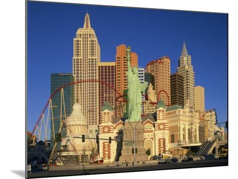 New York New York Hotel in Las Vegas, Nevada, United States of America, North America--Mounted Photographic Print