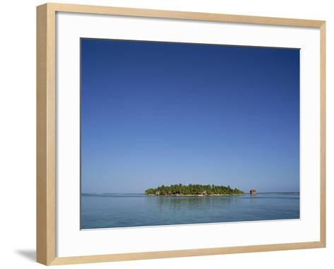 Tobacco Cay, Belize, Central America-Strachan James-Framed Art Print