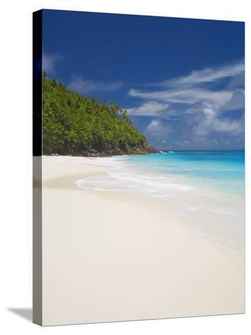 Sandy Beach, Seychelles, Indian Ocean, Africa-Papadopoulos Sakis-Stretched Canvas Print