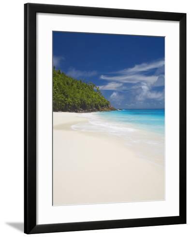 Sandy Beach, Seychelles, Indian Ocean, Africa-Papadopoulos Sakis-Framed Art Print