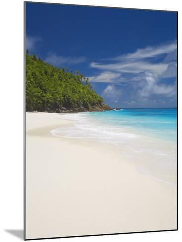 Sandy Beach, Seychelles, Indian Ocean, Africa-Papadopoulos Sakis-Mounted Photographic Print