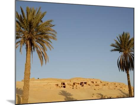Jabal El Mawta, Oasis of Siwa, Egypt, North Africa, Africa-Groenendijk Peter-Mounted Photographic Print
