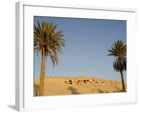 Jabal El Mawta, Oasis of Siwa, Egypt, North Africa, Africa-Groenendijk Peter-Framed Art Print