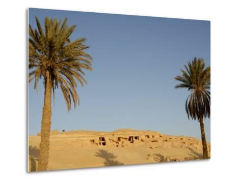 Jabal El Mawta, Oasis of Siwa, Egypt, North Africa, Africa-Groenendijk Peter-Metal Print