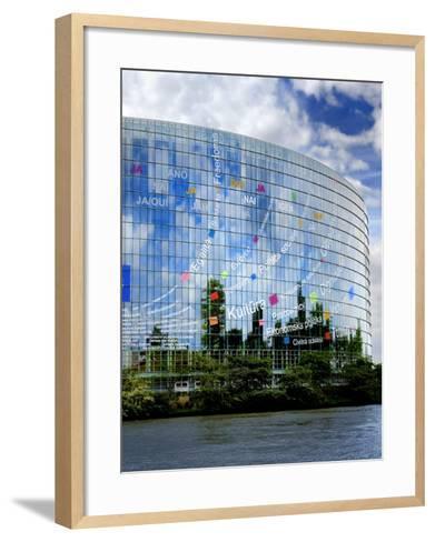 European Parliament, Strasbourg, Alsace, France, Europe-Richardson Peter-Framed Art Print