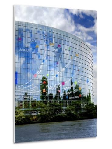 European Parliament, Strasbourg, Alsace, France, Europe-Richardson Peter-Metal Print