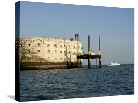 Fort Boyard, Near Ile D'Oleron, Charente Maritime, France, Europe-Groenendijk Peter-Stretched Canvas Print