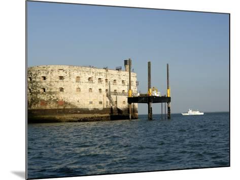 Fort Boyard, Near Ile D'Oleron, Charente Maritime, France, Europe-Groenendijk Peter-Mounted Photographic Print