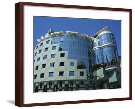 Haas-House, Stephansplatz, Vienna, Austria, Europe-Hans Peter Merten-Framed Art Print
