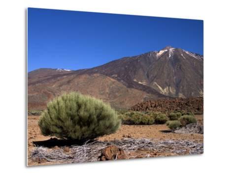 Mount Teide, Parque Nacional De Las Canadas Del Teide Tenerife, Canary Islands-White Gary-Metal Print
