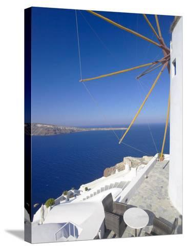Oia, Santorini, Cyclades, Greek Islands, Greece, Europe-Papadopoulos Sakis-Stretched Canvas Print