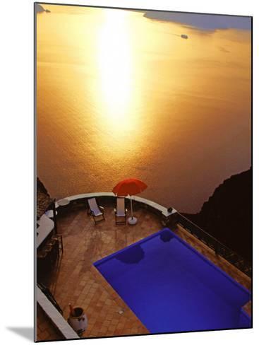 Santorini, Cyclades, Greek Islands, Greece, Europe-Papadopoulos Sakis-Mounted Photographic Print
