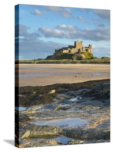 Bamburgh Castle, Northumberland, England, United Kingdom, Europe-Wogan David-Stretched Canvas Print