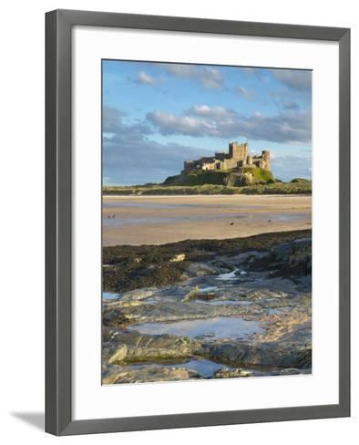 Bamburgh Castle, Northumberland, England, United Kingdom, Europe-Wogan David-Framed Art Print