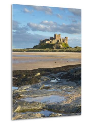 Bamburgh Castle, Northumberland, England, United Kingdom, Europe-Wogan David-Metal Print
