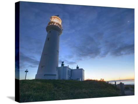 Flamborough Lighthouse, Flamborough, East Yorkshire, Yorkshire, England, United Kingdom, Europe-Wogan David-Stretched Canvas Print