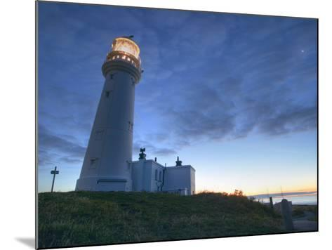 Flamborough Lighthouse, Flamborough, East Yorkshire, Yorkshire, England, United Kingdom, Europe-Wogan David-Mounted Photographic Print